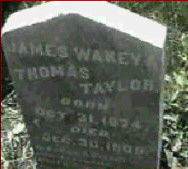 James Taylor tombstone